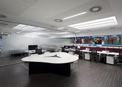 Oficinas secretaria técnica F. C. Barcelona